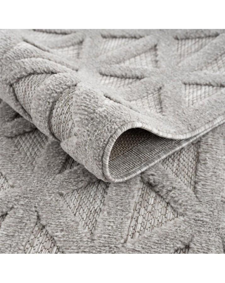 Lauko kilimas Santorini 58500 grey