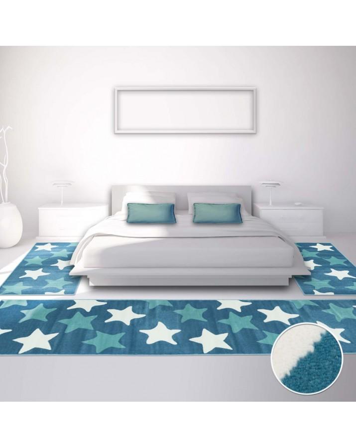 Vaikiškų kilimų miegamajam komplektas