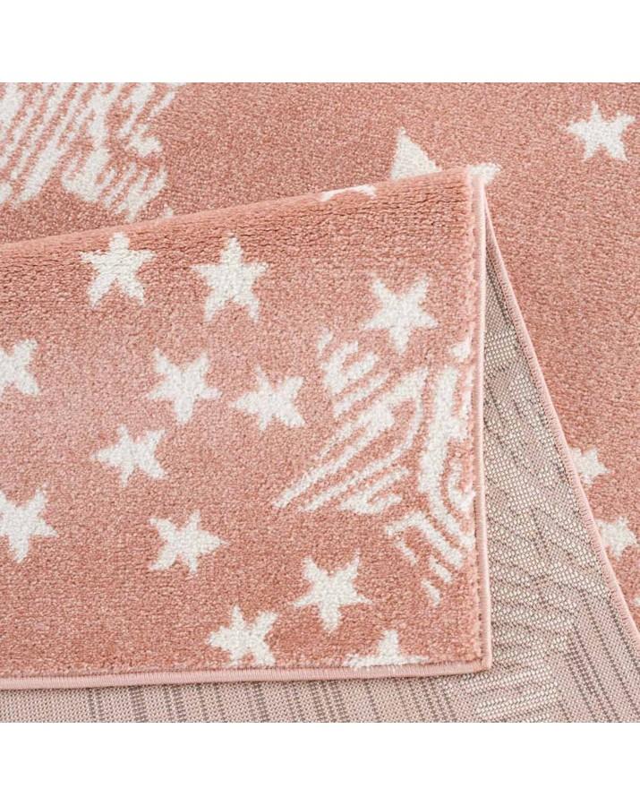 Rausvas kilimas su žvaigždelėmis