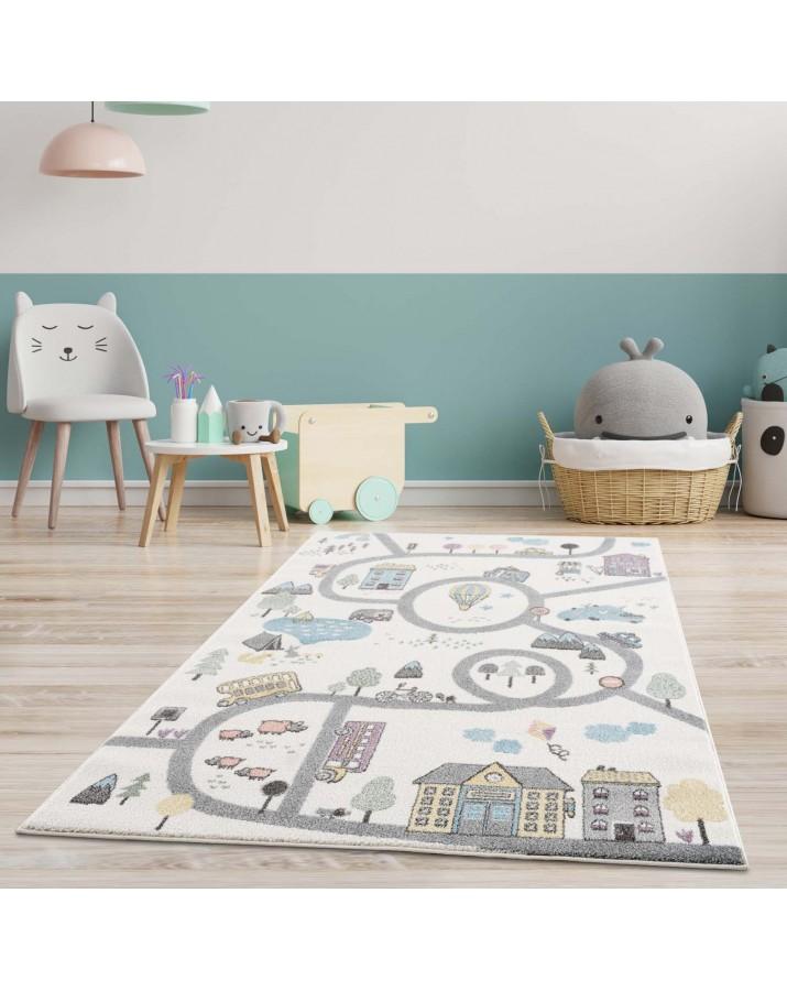 """Vaikiškas kilimas """"Miestas"""""""