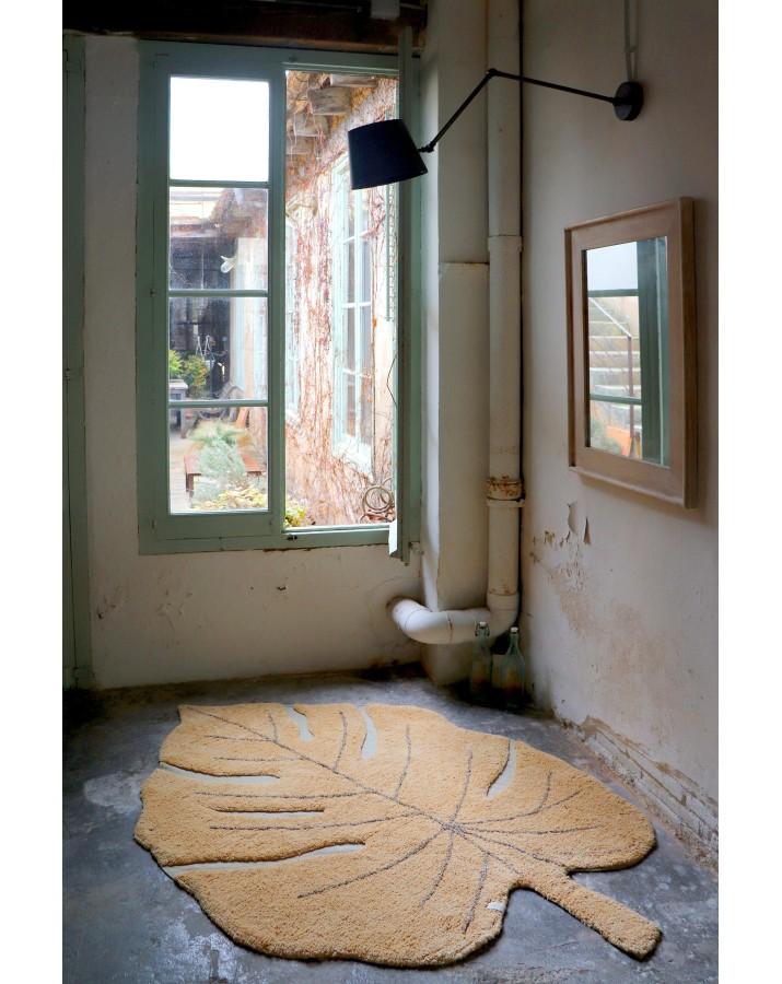 Lapo formos oranžinis skalbiamas kilimas