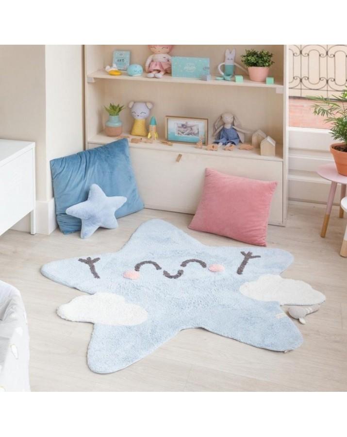Skalbiamas vaikiškas kilimas Žvaigždelė