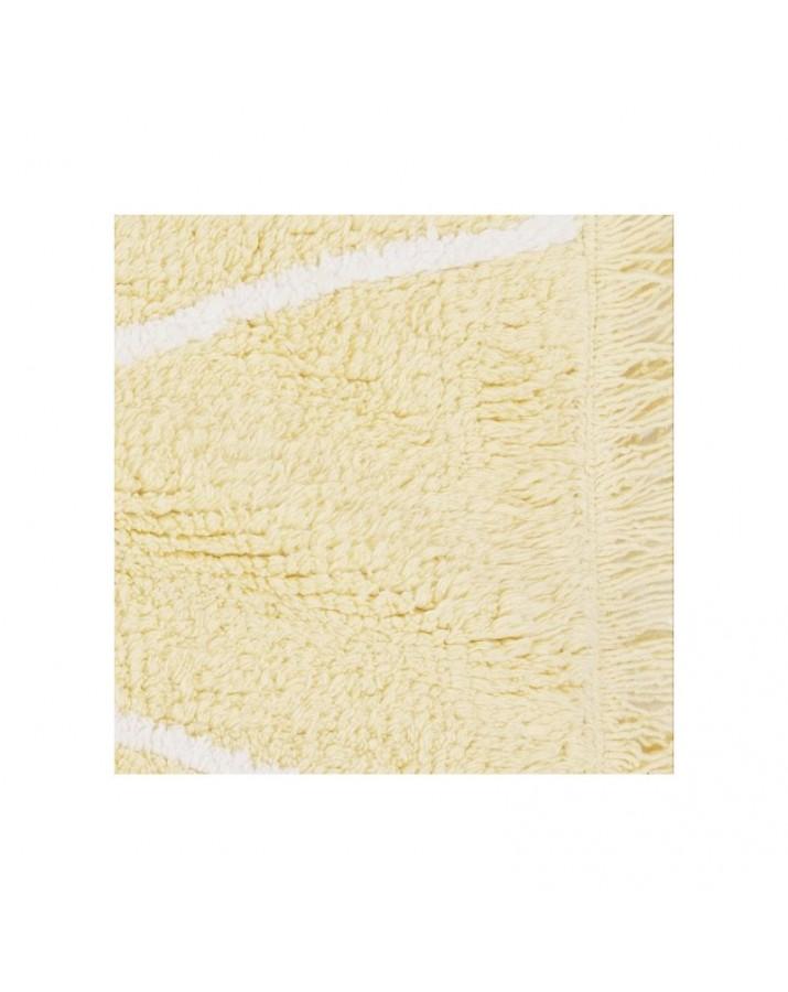 Vaikiškas skalbiamas kilimas Hippy Yellow