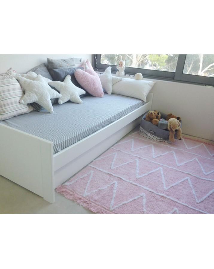 Vaikiškas skalbiamas kilimas Hippy Pink