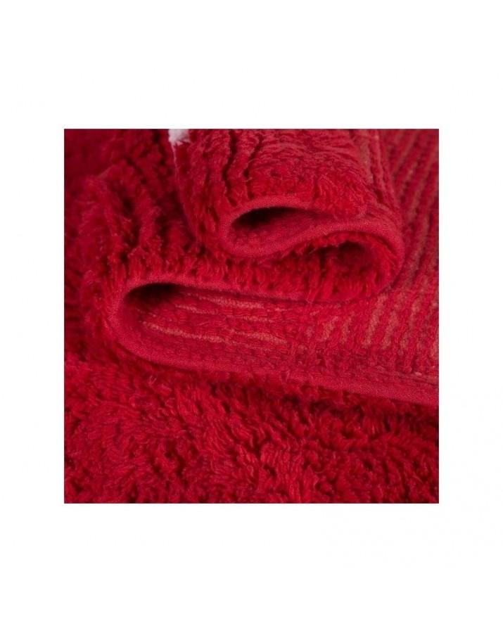 Raudonas skalbiamas kilimas Ferma