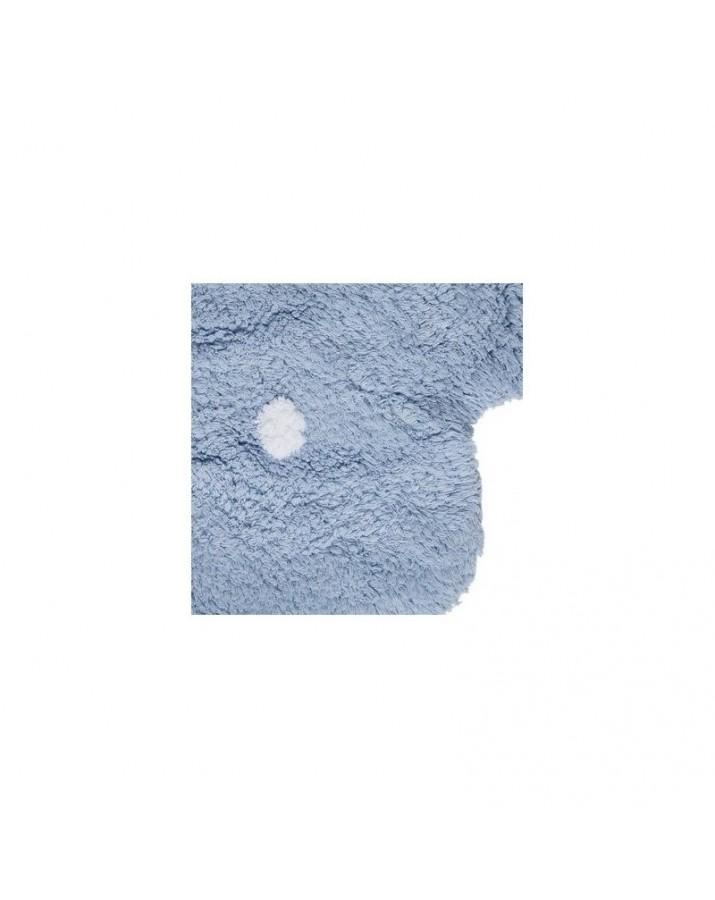 Mėlynas skalbiamas kilimas Sausainiukas