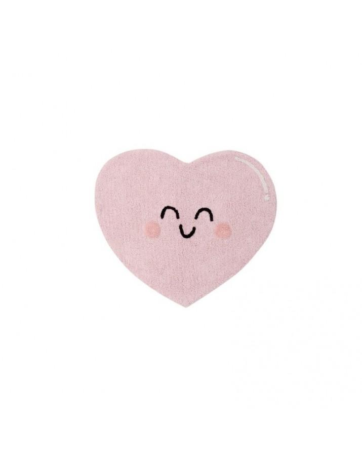 Skalbiamas kilimas Miela širdutė