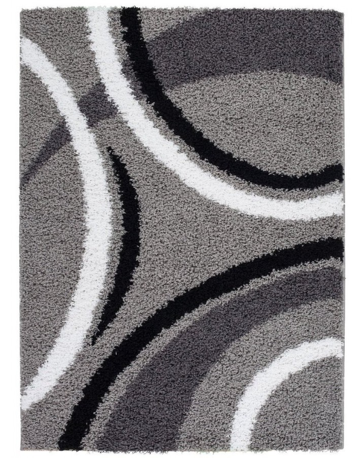 Raštuotas pilkas kilimas ..