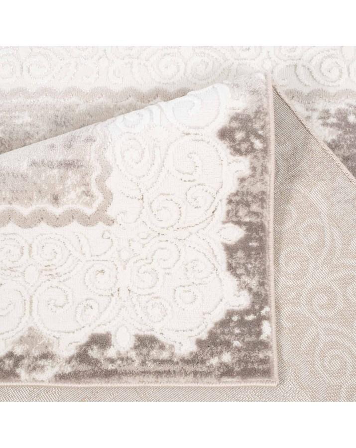 Klasikinio stiliaus smėlio spalvos kilimas