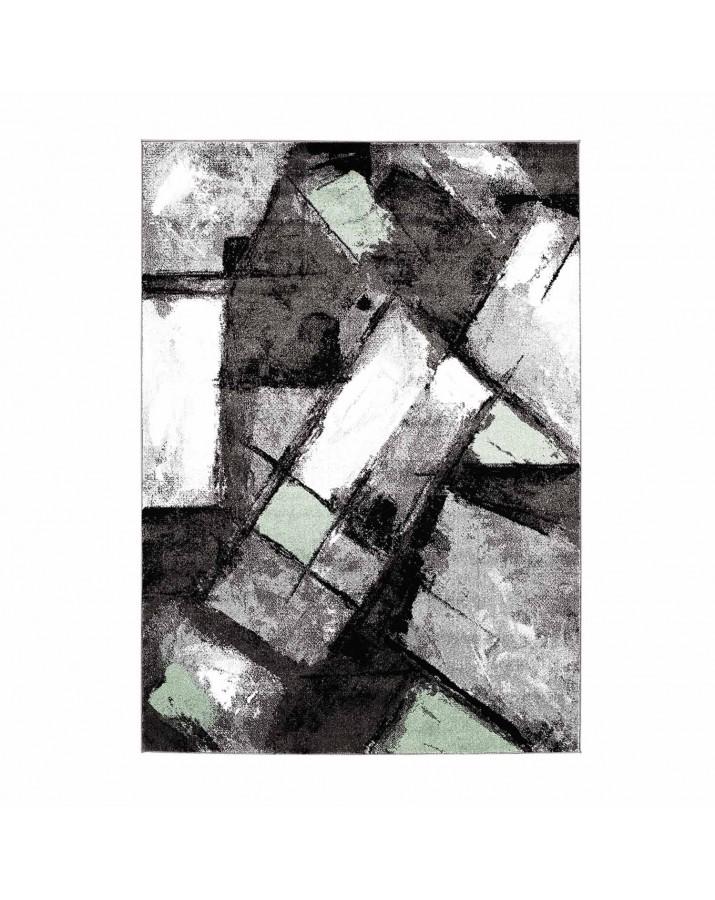 "Žalių fragmentų kilimas - ""Moda Soft"""