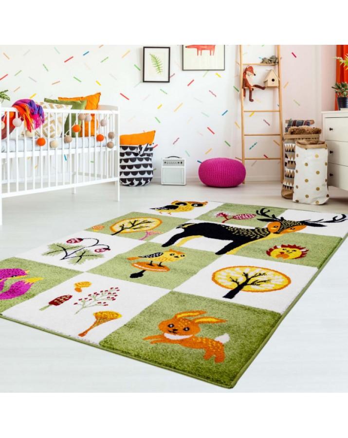 """Vaikiškas kilimas """"Miško gyventojai""""Vaikiški kilimai"""
