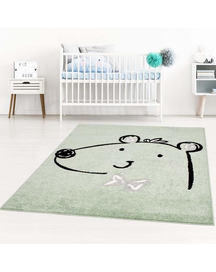 """Vaikiškas žalias kilimas """"Meškiukas"""""""