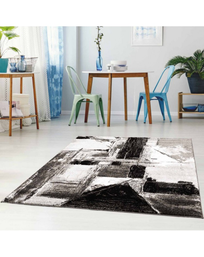 """Pilkas meniškas kilimas - """"Moda Soft"""""""