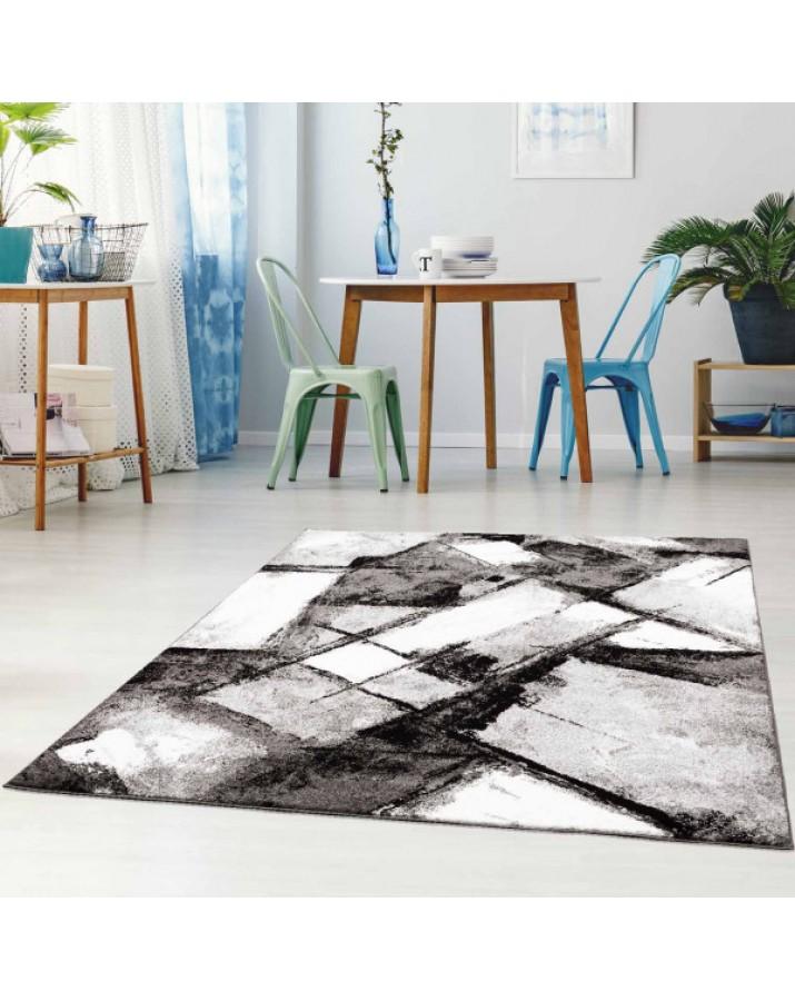"""Pilkų fragmentų kilimas - """"Moda Soft"""""""