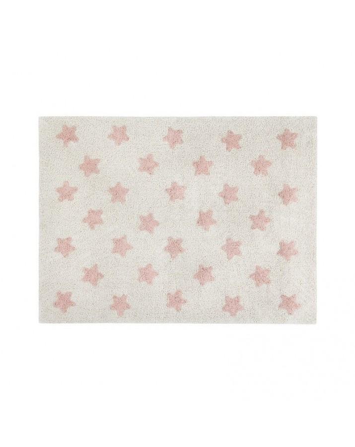 Skalbiamas kilimas su žvaigždelėmis