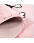 """Rožinis kilimas """"Katytė princesė""""Vaikiški kilimai"""