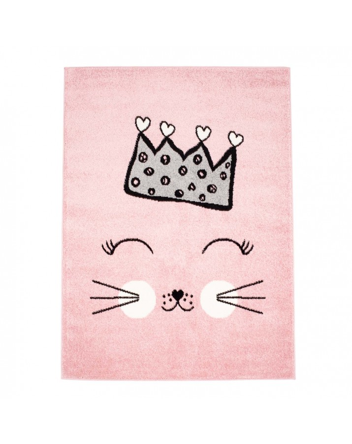 """Rožinis kilimas """"Katytė princesė"""""""