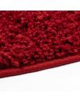 Švelnus raudonas kilimas Shaggy UniKilimai