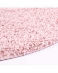Švelnus rožinis kilimas Shaggy UniKilimai