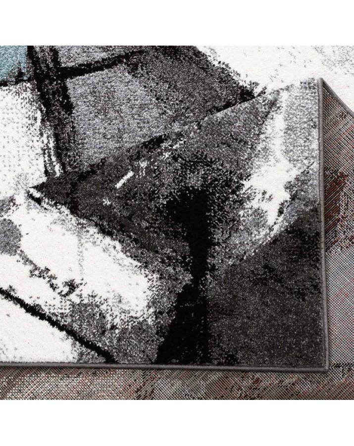 """Mėlynų fragmentų kilimas - """"Moda Soft"""""""