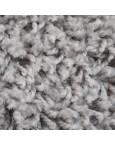 Švelnus šviesiai pilkas kilimas Shaggy FineKilimai