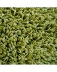 Švelnus žalias kilimas Shaggy FineKilimai